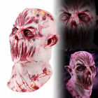 Halloween Cosplay Scary Costume Devil Zombie Latex Horror Monster Bloody Mask US