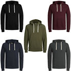 Jack & Jones Essentials Hoodie Mens Casual Sweatshirt Hooded Jumper JJEHolmen