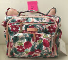 Ju Ju Be Rose Gold BFF Baby Diaper Bag Backpack w/ Changing Pad Forget Me Not