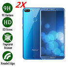 2x Premium Tempered Glass Screen Protector Film For Huawei Honor 6x 7x 8 9 10