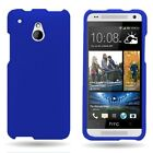 Hard Rubber Shell Cover For HTC One Mini M4 Snap On Plastic Phone Cover Case