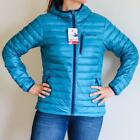 NEW MARMOT QUASAR NOVA DOWN HOODY JACKET Late Night Blue Wom
