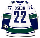DANIEL SEDIN VANCOUVER CANUCKS AWAY AUTHENTIC PRO ADIDAS NHL JERSEY