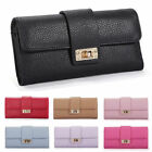 HOT Women Leather Bifold Wallet Clutch Phone Card Holders Purse Long Handbag 79i