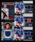 NEW YORK RANGERS YOUNG GUNS ROOKIE JERSEY AUTOGRAPH NHL HOCKEY CARD SEE LIST $5.0 CAD on eBay