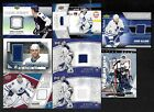 TORONTO MAPLE LEAFS JERSEY AUTOGRAPH NHL HOCKEY CARD SEE LIST $12.0 CAD on eBay