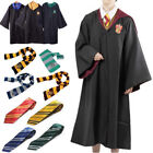 Harry Potter Robe Mantel Umhang Cape Krawatte Schal Gryffindor Halloween Cosplay