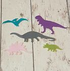 5 Felt Dinosaur, die cut for craft and embellishment
