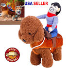 Cosplay Funny Halloween Riding Horse Cowboy Pet Dog Costumes Puppy Clothes Suits
