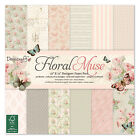 Lote Floral Muse Vintage Shabby Papel Hoja Scrapbooking Tarjeta 20 30 15cm