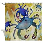 "CafePress Sandy Crab Decorative Fabric Shower Curtain (69""x70"") (657627125)"