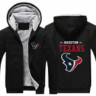 Houston Texans Fans Hoodie Fleece zip up Coat winter Jacket warm Sweatshirt on eBay