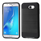 For Samsung Galaxy J7/Sky Pro/Perx Moniker Brushed Hybrid Protector Case Cover