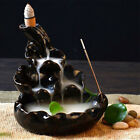 Внешний вид - Black Porcelain Backflow Ceramic Cone Incense Burner Holder Buddhist Cones Home
