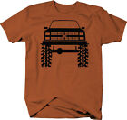 1980's 90's Chevy K5 Blazer Lifted Mud Tires Truck Color T-Shirt