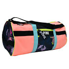 Victoria's Secret Pink Duffle Bag Carry On Weekender Gym Tote Luggage Vs New Nwt