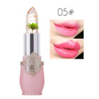 Beauty Bright Flower Crystal Jelly Lipstick Magic Temperature Change Color Lip