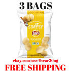 New Lays Simply Sea Salted Thick Cut Potato Chips, 8.5 oz Bag-( 3 Bags)