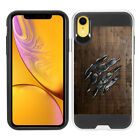"For Apple iPhone XR 6.1"" Shockproof Brushed Hybrid Protector Cover Case Skin"
