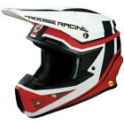 Moose Racing FI Session MIPS Helmet / Red/White - All Sizes