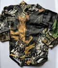 Mossy Oak Camo Baby Diaper Shirt, Camouflage Boy's Creeper Easy On Snap LS