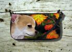 Small clutch bag, Chihuahua Dog art, Purse, Bag, artwork by L.Dumas
