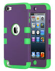 ULAK Defender Case for iPod Touch 5th 6th Gen Soft Hybrid Armor Impact TPU Cover