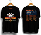 T-shirt Five Finger Death Punch with Breaking Benjamin tour 2018 all size image