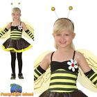 BUMBLE BEE BUG LIFE BUSY BEE FAIRYTALE  - Age 3-10 - Girls Fancy Dress Costume