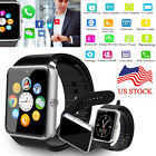Men Women Bluetooth Smart Wrist Watch Remote Camera For Android Samsung S9 S8 S7
