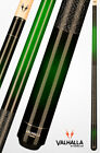 Viking Valhalla VA237 Hard Rock Maple Linen Wrap Pool/Billiard Cue - Green/Black $79.99 USD on eBay