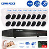 OWSOO 16CH Full CIF DVR 1TB HDD 16pcs 800TVL Dome CCTV Camera 16*60ft Cable Kit