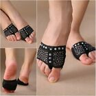 2xDiamond Belly Ballet Dance Paws Toe Pad Practice Shoes Feet thong Socks USA