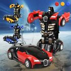 Robot Car Transformers Kids Toys Toddler Vehicle Cool Toy For Boys Child Gift US