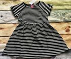 Gymboree 6 7 8 10 Dress Tails of the City Black White Striped Outlet NWT Texture