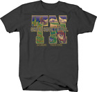 Great Smoky Mountain Tennessee Gatlinburg Pigeon Fox Bald Eagle T shirt for men