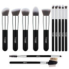 12pcs Kabuki Foundation Makeup Brush Sets Powder Eyeshadow Eye Blush Lip Brushes