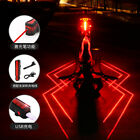 New Cycling Bicycle Spider-man Laser Taillights USB Charging Night Warning Light