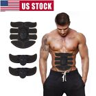 Indoor Muscle Stimulator Training Gear ABS Trainer Six Pads Body EMS Exercise US image