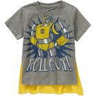 """Buy """"Transformers Bumblebee Short Sleeve Caped T Shirt Boy Size 5T"""" on EBAY"""