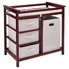 "Nursery Infant Baby Changing Table with 3 Baskets 34.5"" x 34.25"" x 20.75""US"