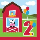 Happy 2nd Birthday AGE 2 Party Balloons Banners Badges & Decorations Helium (1C)