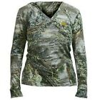 Realtree Girl Max-1 Camo Pullover Hoodie, Ladies Hooded Shirt Camouflage