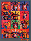 Peter Max Liberty And Justice For All Art Silk Poster 8x12 24x36 24x43