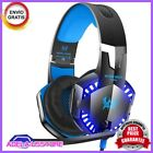 Headset Audifonos Gamer con Microfono Para PS4 Xbox PC Nintendo Switch LED Light