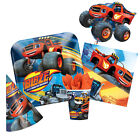 BLAZE & the MONSTER MACHINES Birthday Party Range - Tableware & Decorations (1C)