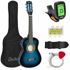 BCP 30in Kids Classical Acoustic Guitar Beginners Set w/ Bag, E-Tuner, Strap