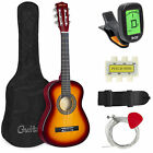 BCP 30in Kids Classical Acoustic Guitar Beginners Set w- Bag  E-Tuner  Strap