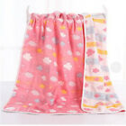 Baby Bath Towel Infant Blanket with 6 Layer Cotton Breathable Soft Gauze