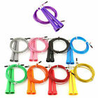 Speed Adjustable Jump Rope Wire Skipping Fitness Sports Cardio Crossfit Gym image
